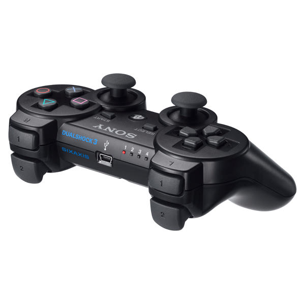 Sony DualShock 3 Wireless Controller, charcoal black