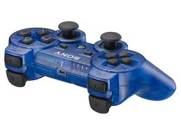 Sony DualShock 3 Wireless Controller, cosmic blue -PS3 - BAZ�R (pou�it� tovar)