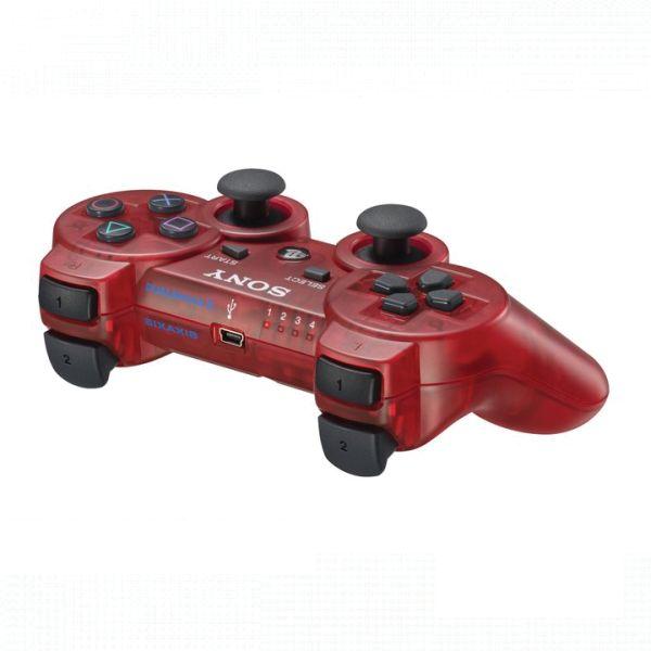 Sony DualShock 3 Wireless Controller, crimson red BAZÁR (použitý tovar , zmluvná záruka 12 mesiacov)
