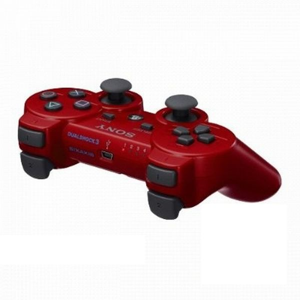 Sony DualShock 3 Wireless Controller, deep red