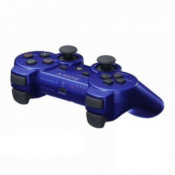Sony DualShock 3 Wireless Controller, blue-PS3 - BAZÁR (použitý tovar)