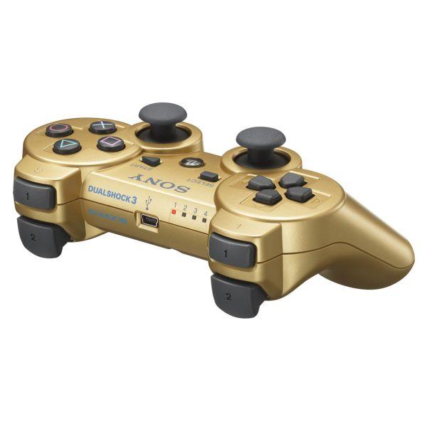Sony DualShock 3 Wireless Controller, Metallic Gold - PS3 - BAZÁR (použitý tovar)