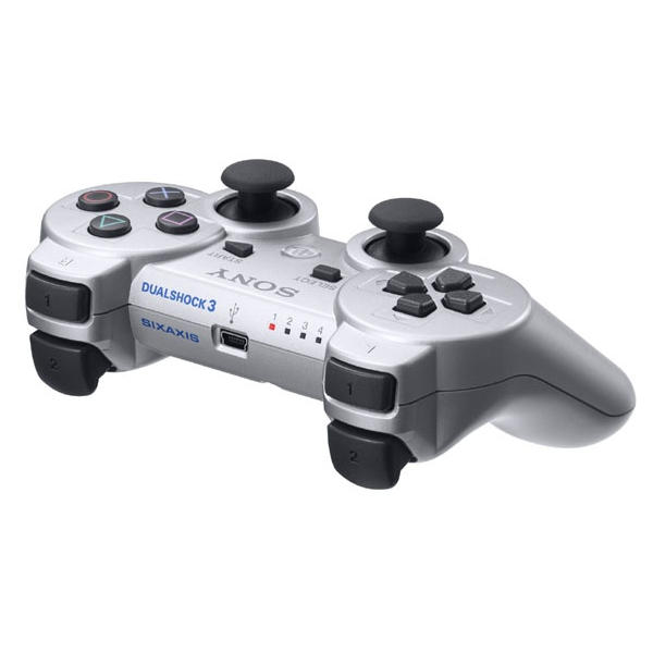 Sony DualShock 3 Wireless Controller, satin silver