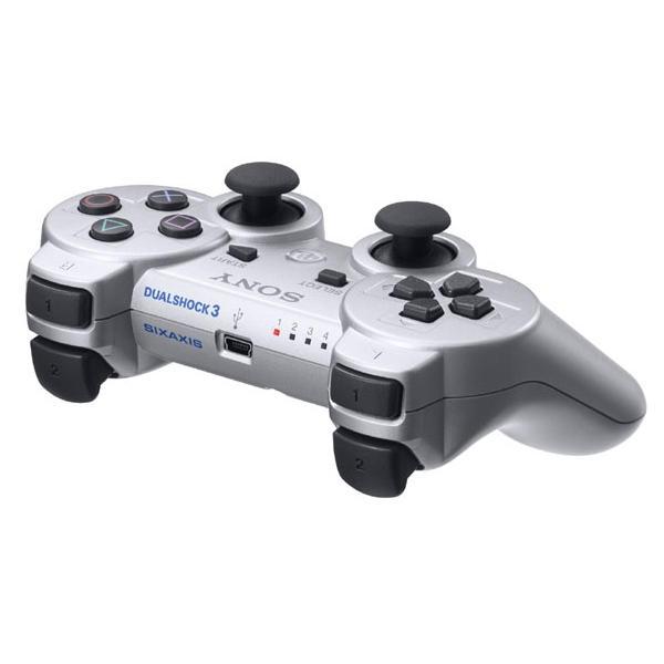 Sony DualShock 3 Wireless Controller, Silver-PS3 - BAZÁR (použitý tovar)