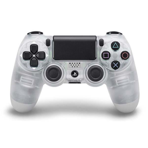 Sony DualShock 4 Wireless Controller, crystal - BAZÁR (použitý tovar , zmluvná záruka 12 mesiacov)