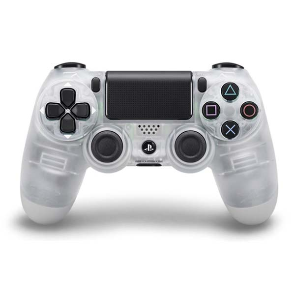 Sony DualShock 4 Wireless Controller, crystal