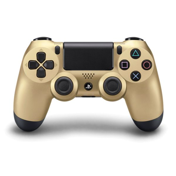 Sony DualShock 4 Wireless Controller, gold - BAZÁR (použitý tovar , zmluvná záruka 12 mesiacov)