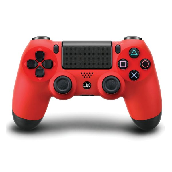 Sony DualShock 4 Wireless Controller, magma red