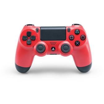 Sony DualShock 4 Wireless Controller, magma red - trieda A, ako nový