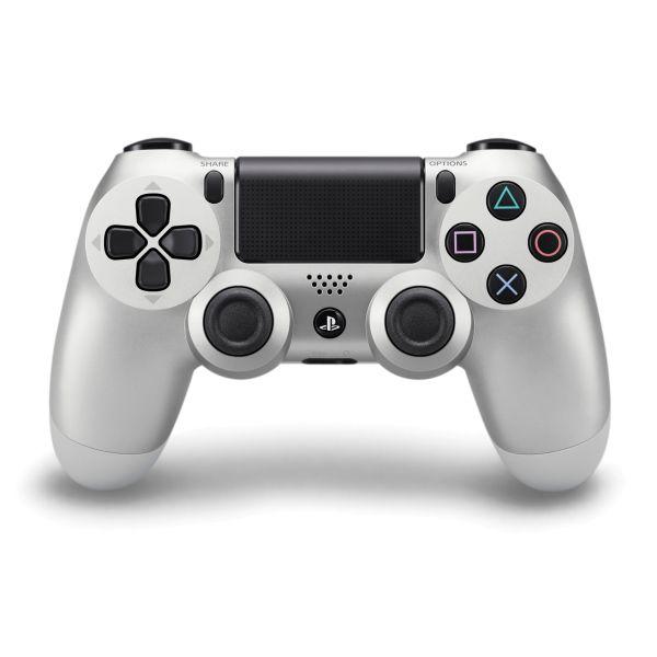 Sony DualShock 4 Wireless Controller, silver - BAZÁR (použitý tovar , zmluvná záruka 12 mesiacov)