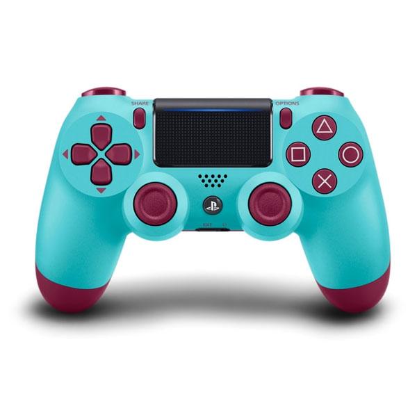 Sony DualShock 4 Wireless Controller v2, berry blue - BAZÁR (použitý tovar)
