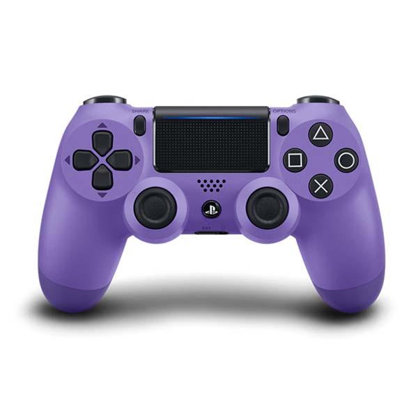 Sony DualShock 4 Wireless Controller v2, electric purple - BAZÁR (použitý tovar)