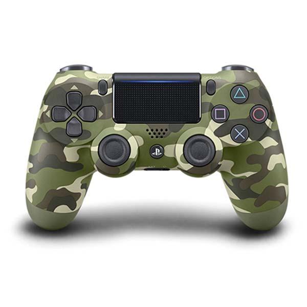 Sony DualShock 4 Wireless Controller v2, green camouflage - BAZÁR (použitý tovar , zmluvná záruka 12 mesiacov)
