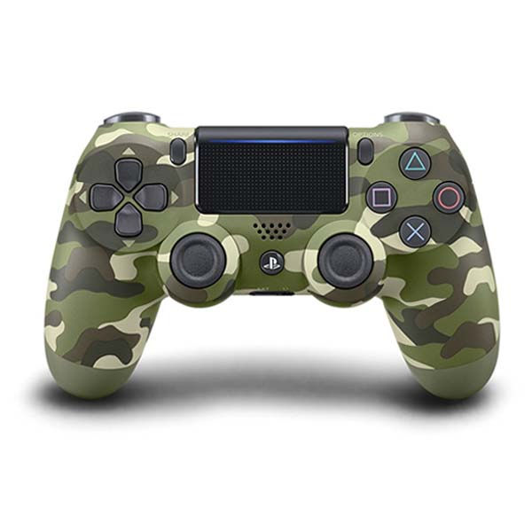 Sony DualShock 4 Wireless Controller v2, green camouflage
