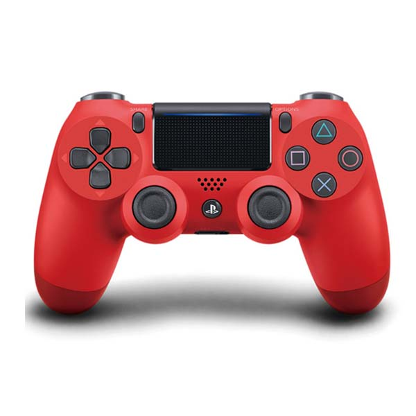 Sony DualShock 4 Wireless Controller v2, magma red