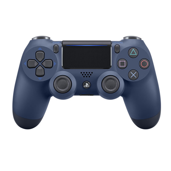 Sony DualShock 4 Wireless Controller v2, midnight blue - BAZÁR (použitý tovar)