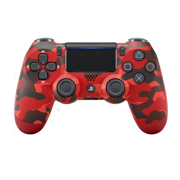 Sony DualShock 4 Wireless Controller v2, red camouflage