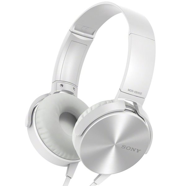 Sony Extra Bass MDR-XB450AP s handsfree, white