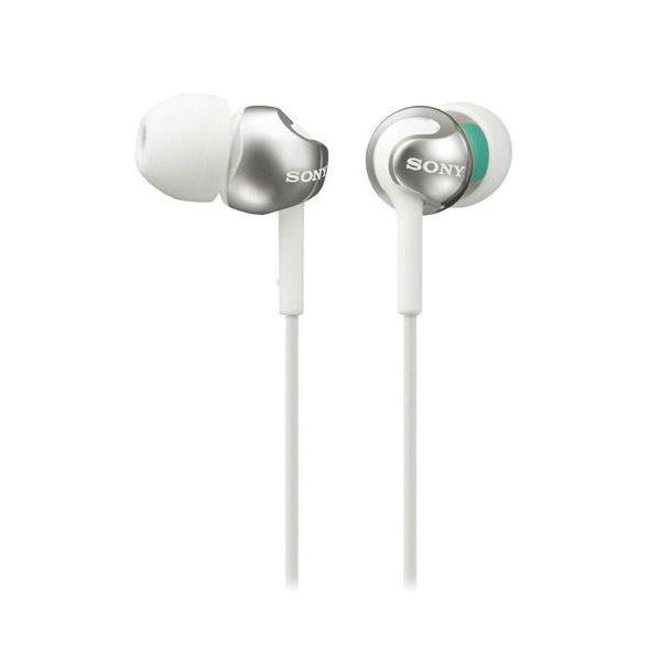 Sony MDR-EX110LP, white