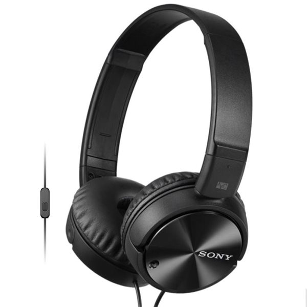 Sony MDR-ZX110NA s handsfree a Noise cancellingom, black MDRZX110NAB