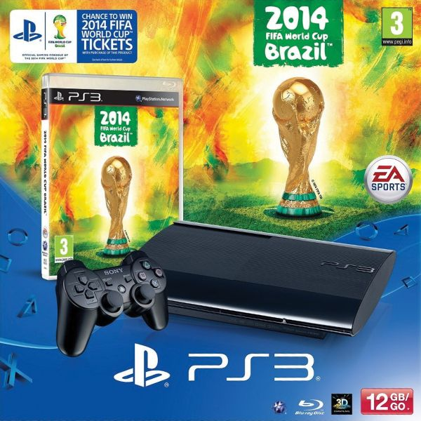 Sony PlayStation 3 12GB + 2014 FIFA World Cup Brazil