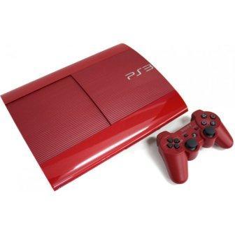 Sony PlayStation 3 500GB Super Slim, garnet red - Použitý tovar, zmluvná záruka 12 mesiacov