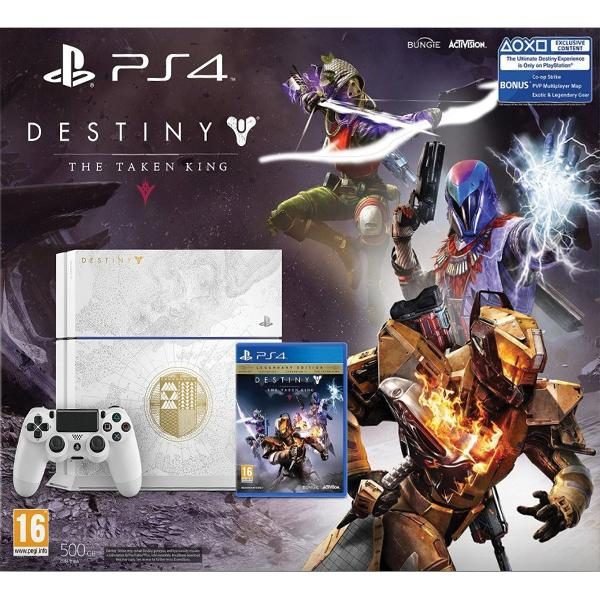 Sony PlayStation 4 500GB Destiny(Special Limited Edition) - BAZÁR (použitý tovar , zmluvná záruka 12 mesiacov)