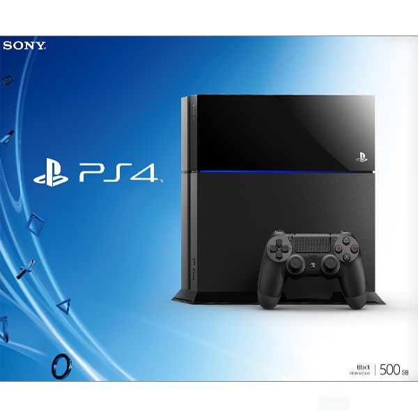 Sony PlayStation 4 500GB, jet black