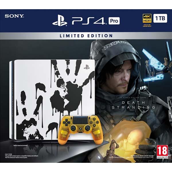 Sony PlayStation 4 Pro 1TB + Death Stranding CZ (Limited Edition)
