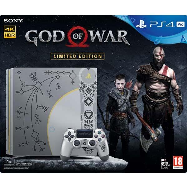 Sony PlayStation 4 Pro 1TB God of War (Limited Edition) - BAZÁR (použitý tovar , zmluvná záruka 12 mesiacov)