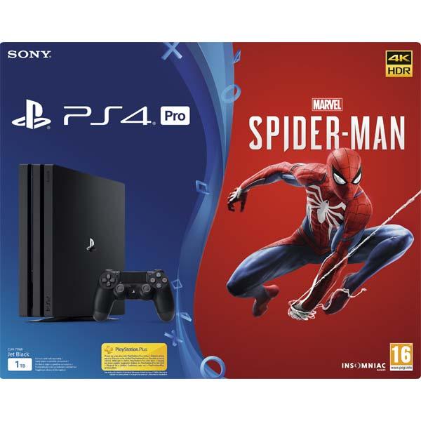 Sony PlayStation 4 Pro 1TB + Marvel's Spider-Man CZ