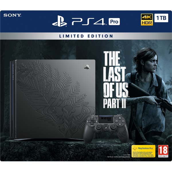 Sony PlayStation 4 Pro 1TB + The Last of Us: Part II CZ (Limited Edition) CUH-7216B