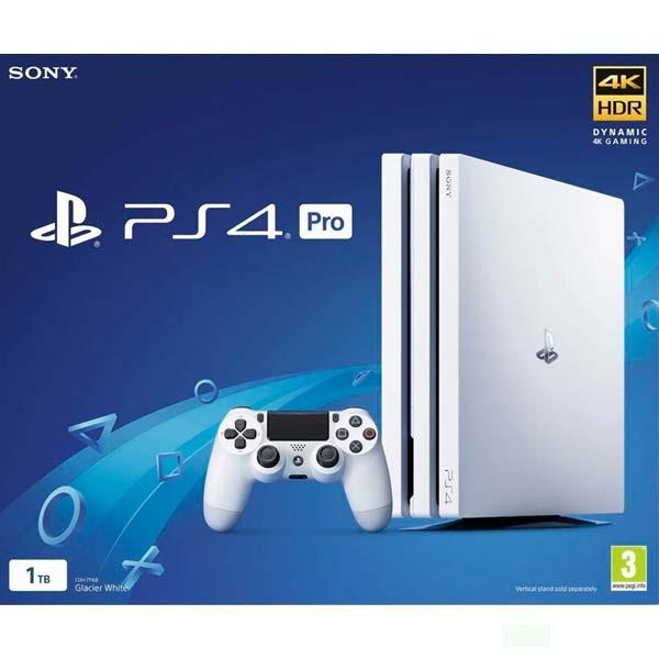 Sony PlayStation 4 Pro 1TB, white - BAZÁR (použitý tovar , zmluvná záruka 12 mesiacov)