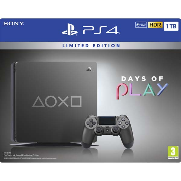 Sony PlayStation 4 Slim 1TB (Days of Play Special Edition)