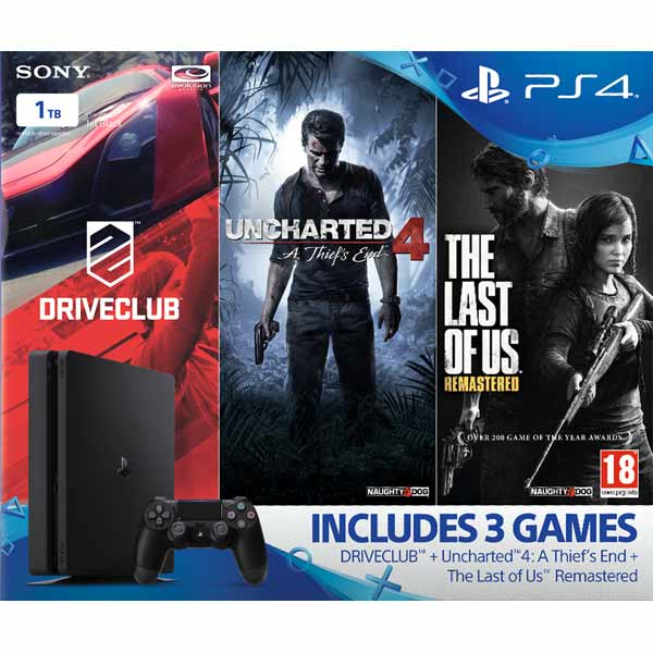 Sony PlayStation 4 Slim 1TB (Gamer Pack)