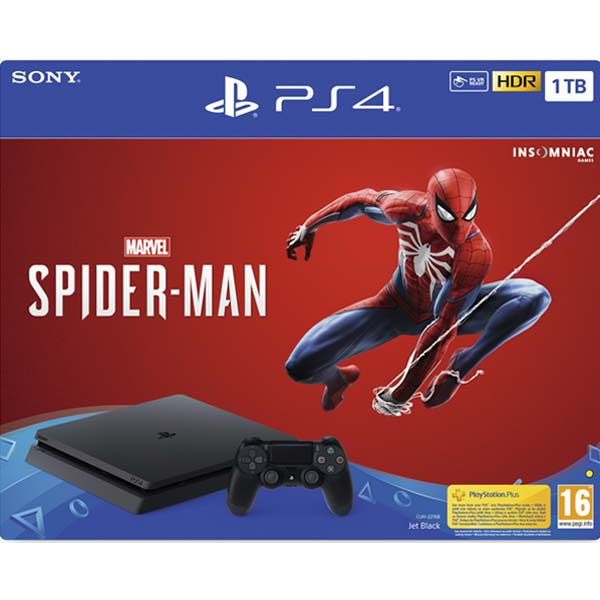 Sony PlayStation 4 Slim 1TB + Marvel's Spider-Man CZ
