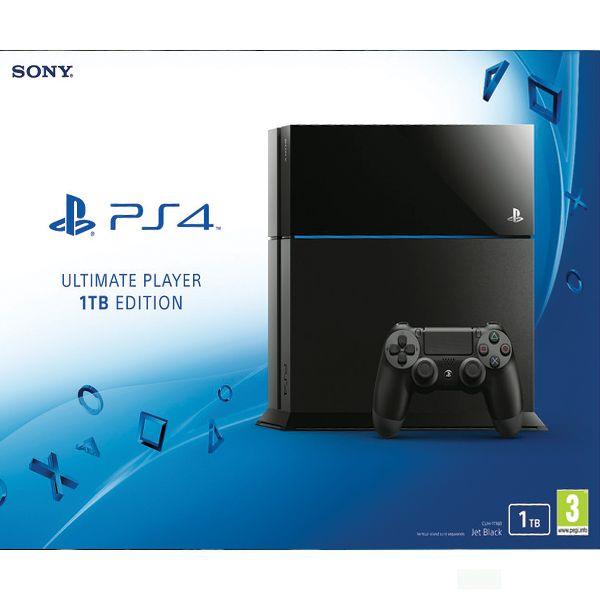 Sony PlayStation 4 (Ultimate Player 1TB Edition) - BAZÁR (použitý tovar , zmluvná záruka 12 mesiacov)