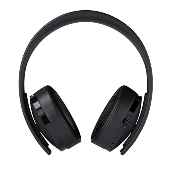 Sony PlayStation Gold Wireless 7.1 Headset, black