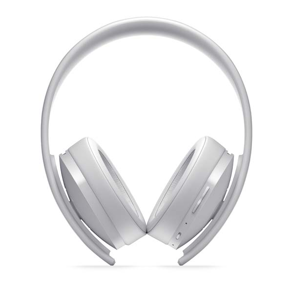 Sony PlayStation Gold Wireless 7.1 Headset, white