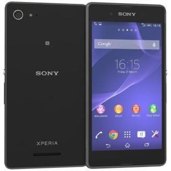 Sony Xperia E3 - D2203, 4GB | Black, Trieda B - použité, záruka 12 mesiacov