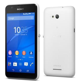 Sony Xperia E4g - E2003, 8GB | White, Trieda A - použité, záruka 12 mesiacov