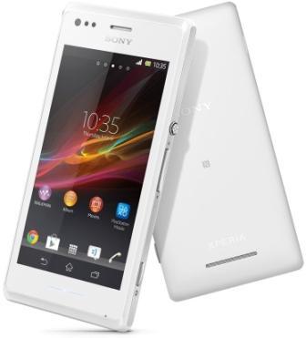 Sony Xperia M - C1905, 4GB | White, Trieda C - použité, záruka 12 mesiacov