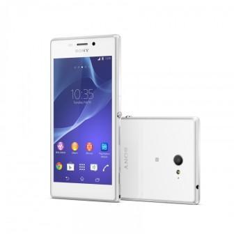 Sony Xperia M2 - D2303, 8GB | White, Trieda B - použité, záruka 12 mesiacov