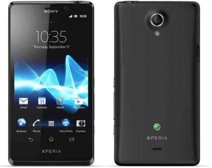 Sony Xperia T - LT30p, 16GB   Black, Trieda A - použité, záruka 12 mesiacov