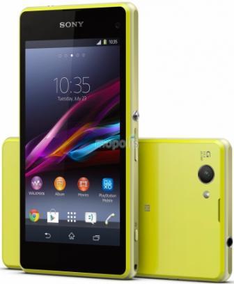 Sony Xperia Z1 Compact - D5503, 16GB | Lime, Trieda C - použité, záruka 12 mesiacov