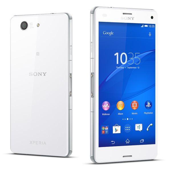 Sony Xperia Z3 Compact - D5803, 16 GB, White, trieda B- BAZÁR (použitý tovar , zmluvná záruka 12 mesiacov)
