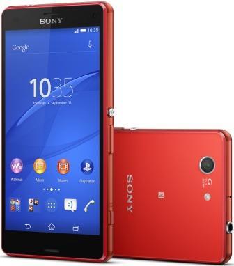 Sony Xperia Z3 Compact - D5803, 16GB | Red, Trieda C - použité, záruka 12 mesiacov