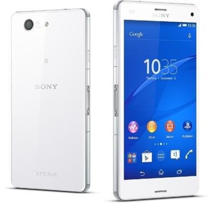 Sony Xperia Z3 Compact - D5803, 16GB | White, Trieda A - použité, záruka 12 mesiacov