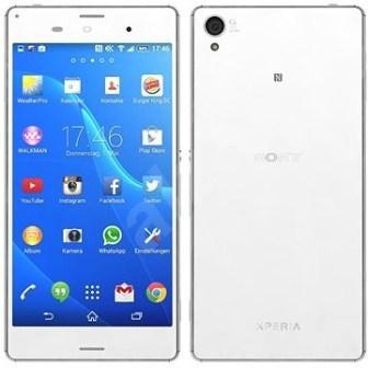 Sony Xperia Z3 - D6603, 16GB | White, Trieda C - použité, záruka 12 mesiacov