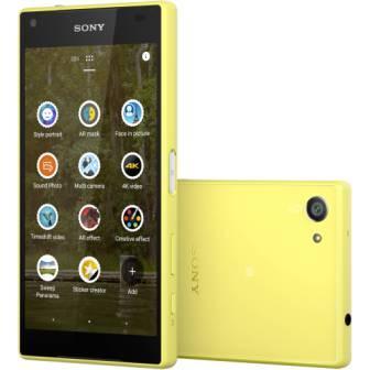 Sony Xperia Z5 Compact - E5823, 32GB | Yellow, Trieda B - použité, záruka 12 mesiacov